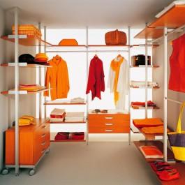 Стеллаж для одежды в гардеробную