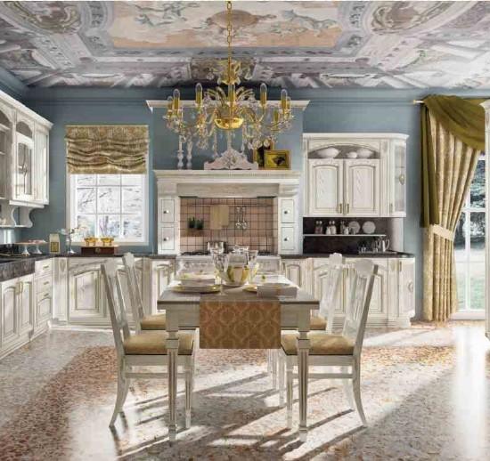 Кухня GoldElite Bianco-Oro