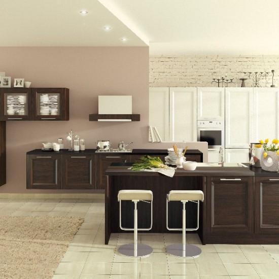 Альба Венге кухня