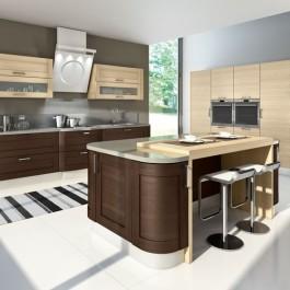 Кухня Эльба-венге